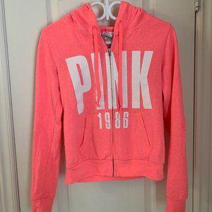 PINK Victoria's Secret Pink Zip Up Hoodie